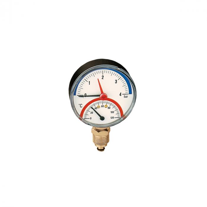Термоманометр радиальный Wester TMRA 6-1/2
