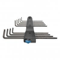 Набор Г-образных ключей с функцией фиксации, удлиненный WERA 967/9 TX XL HF 1 024450