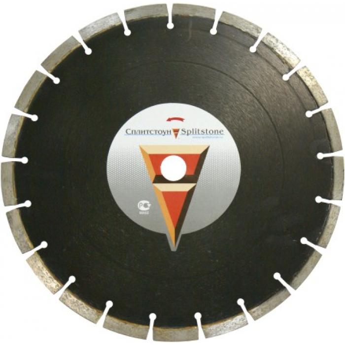 Отрезной алмазный круг Сплитстоун (1A1RSS 400x40x3,2x9+0,5x25,4x24 железобетон 30) сухая Standart