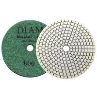 Круг алмазный шлифовальный гибкий DIAM MasterLine Universal зерно 800 для мокрой и сухой шлифовки