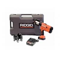 Пресс-пистолет RIDGID RP 340-B Standard + пресс-клещи U 16-20-25 мм, аккумулятор, зарядное устройство, кейс