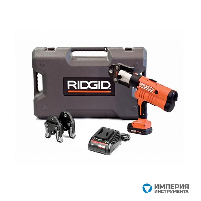 Пресс-пистолет RIDGID RP 340-B Standard  + пресс-клещи U 16-18-20 мм, аккумулятор, зарядное устройство, кейс
