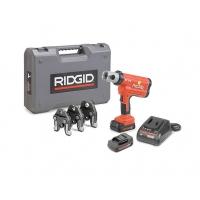 Пресс-пистолет RIDGID RP 210-B Compact  + пресс-клещи V 16-22-28 мм, аккумулятор, зарядное устройство, кейс