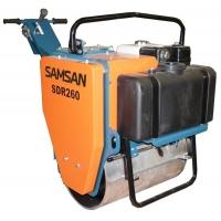 Ручной одновальцовый виброкаток Samsan SDR 260