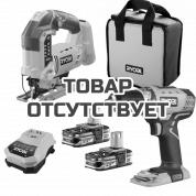 Набор инструментов Ryobi R18CK2G-LL15S