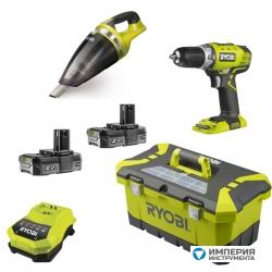 Набор инструментов Ryobi RCD18-220VT