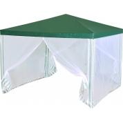 Тент садовый из полиэтилена 3x3x2,5 зеленый Green Glade 1028