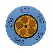 Круглые термоиндикаторы Testo Testoterm измерительный диапазон +60 … +82 °C