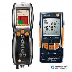 Комплект Testo 330-2 LL NOx BT + Мультиметр Testo 760-2 с магнитным креплением в кейсе