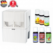 Мойка воздуха Venta LW15 (белая) + два мини-набора ароматических добавок в подарок!
